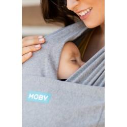 Хибриден слинг Moby Fit Сив