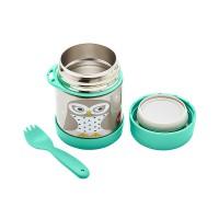 Термос за храна от неръждаема стомана 3Sprouts Оwl