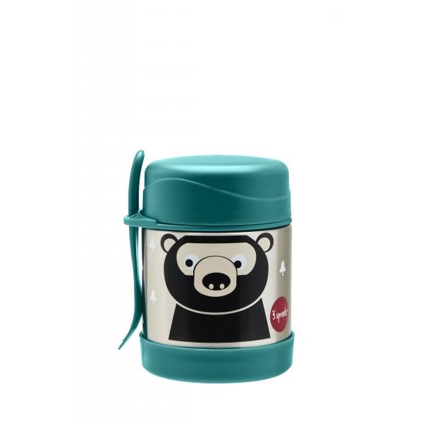 Термос за храна от неръждаема стомана 3Sprouts Bear