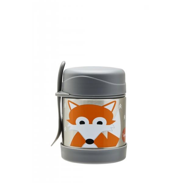 Термос за храна от неръждаема стомана 3Sprouts Fox