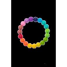 Силиконова гривна гризалка Biberschatz Regenbogen