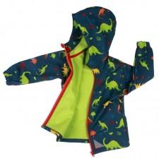 Детско яке от софтшел Динозаври