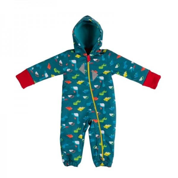 Бебешки космонавт от софтшел десен динозаври