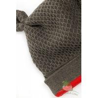 Бебешка шапка от мериносова вълна Shushulka