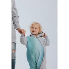 Връхна детска дреха тип 'ромпър' LennyLamb BIg Love Ice Mint