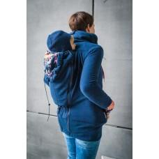 Суитчър за бебеносене от полар MadebyZuz Dark Blue with Neon