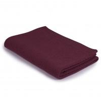 Бебешко одеяло от мериносова вълна 80 х 100см Шушулка - малина