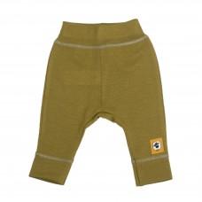 Бебешко панталонче за есен и зима от мерино вълна Шушулка