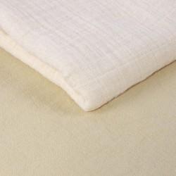 Летен слинг Шушулка пясък от муселинов плат