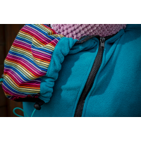 Суитчър за бебеносене от полар Made by Zuz Emerald Rainbow