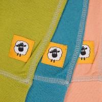Бебешки панталонки от 100% МЕРИНО в зелено