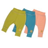 Бебешки панталонки от 100% МЕРИНО в синьо