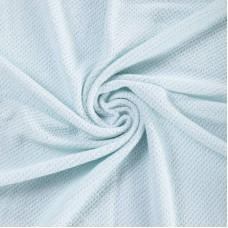 Бебешко одеяло от мериносова вълна 110 х 160см, цвят аква