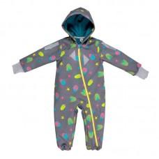 Бебешки космонавт от софтшел сиви Буболечета