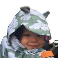 Зимно покривало за бебеносене BundleBean Полярни Мечки