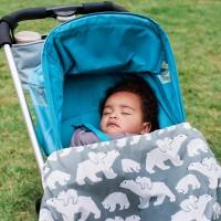 Дъждобран за бебеносене BundleBean Полярни Мечки