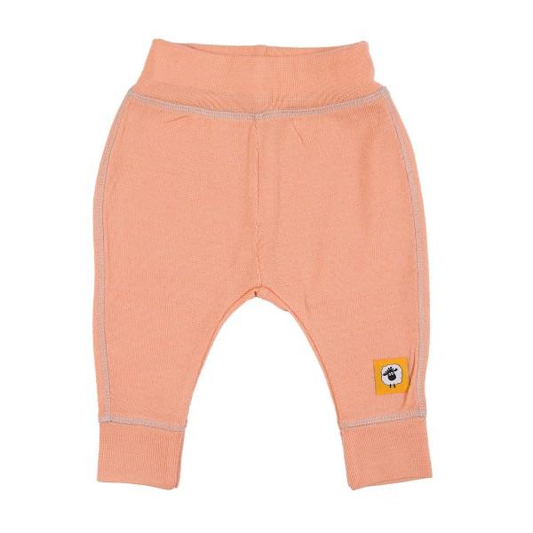 Бебешки панталонки от 100% МЕРИНО в розово