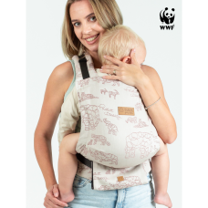 Eргономична раница Isara Quick Full Buckle Wildlife Sandy