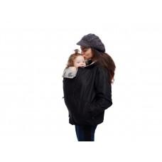 Яке за бебеносене Polar Monkey V2 лилаво с черна подплата