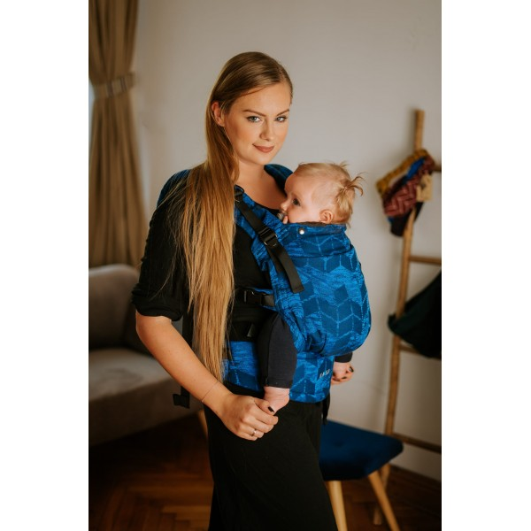 Ергономична раница Kavka Multi-age Royal Blue Braid