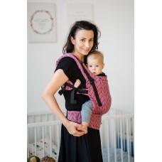 Ергономична раница Kavka Multi-age Old Rose Braid