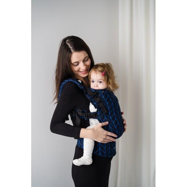 Ергономична раница Kavka Multi-age Vintage Blue Braid
