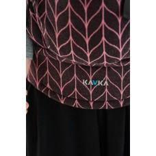 Ергономична раница Kavka Multi-age Vintage Rose Braid