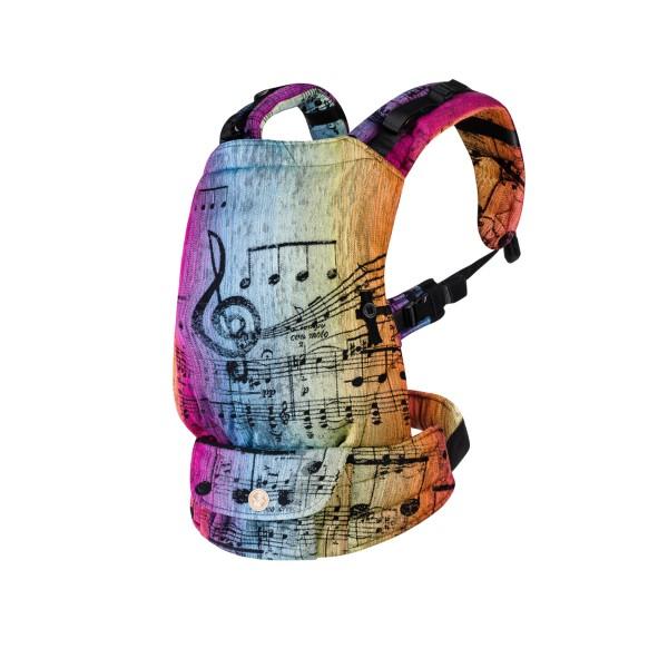 Ергономична раница LennyUpgrade Symphony Rainbow Dark