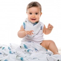Муселиново одеяло от органичен памук 120/120 Dream Catcher