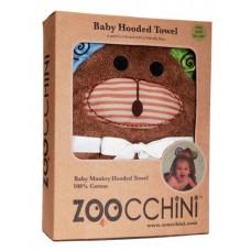Бебешка хавлия с UV защита Zoocchini Маймуната Макс