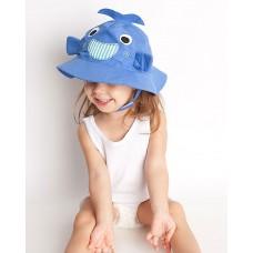 Бебешка шапка със слънцезащита UPF 50+ Китът Уили