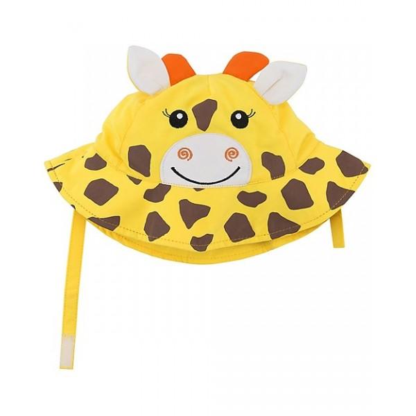Бебешка шапка със слънцезащита UPF 50+ Жирафът Джейми