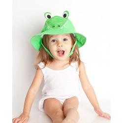 Бебешка шапка със слънцезащита UPF 50+ Алигаторът Айдън