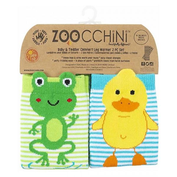 Бебешки гети комплет от 2 броя Zoocchini Жаба и Пате