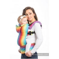 Ергономична раница LennyLamb Little Herringbone Rainbow Light
