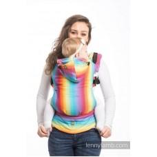 Ергономична раница LennyLamb Little Herringbone Rainbow Light