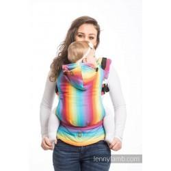 Ергономична раница LennyLamb, Little Herringbone Rainbow Light