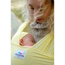 Еластичен слинг с бамбук Joy and Joe Baby Pastel Yellow