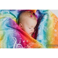Бебешка пелена от бамбук 70/70 Symphony Rainbow Light
