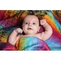 Бебешка пелена от бамбук 70/70 Symphony Rainbow Dark