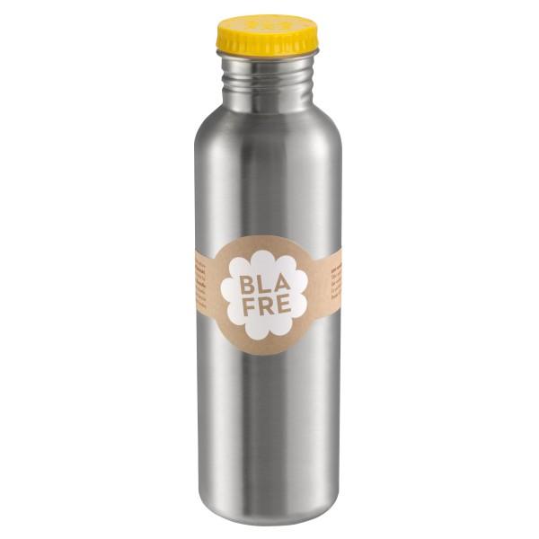 Бутилка за вода от неръждаема стомана Blafre 750мл жълта